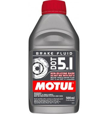 Фото - Motul Dot 5.1 Brake Fluid. Артикул 807001