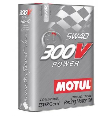 Фото - Motul 300V Power 5w40. Артикул 825602